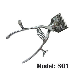 Manual Silver Animals Pets Dogs Grooming Hair Clippers Non