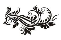 Floral wall stencil reusable 17 various designs pattern ...