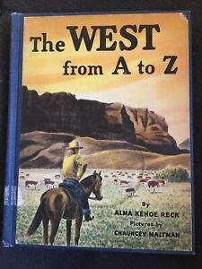 A To Z In Alma : Vintage, Print, Kehoe, Maltman, ExLib