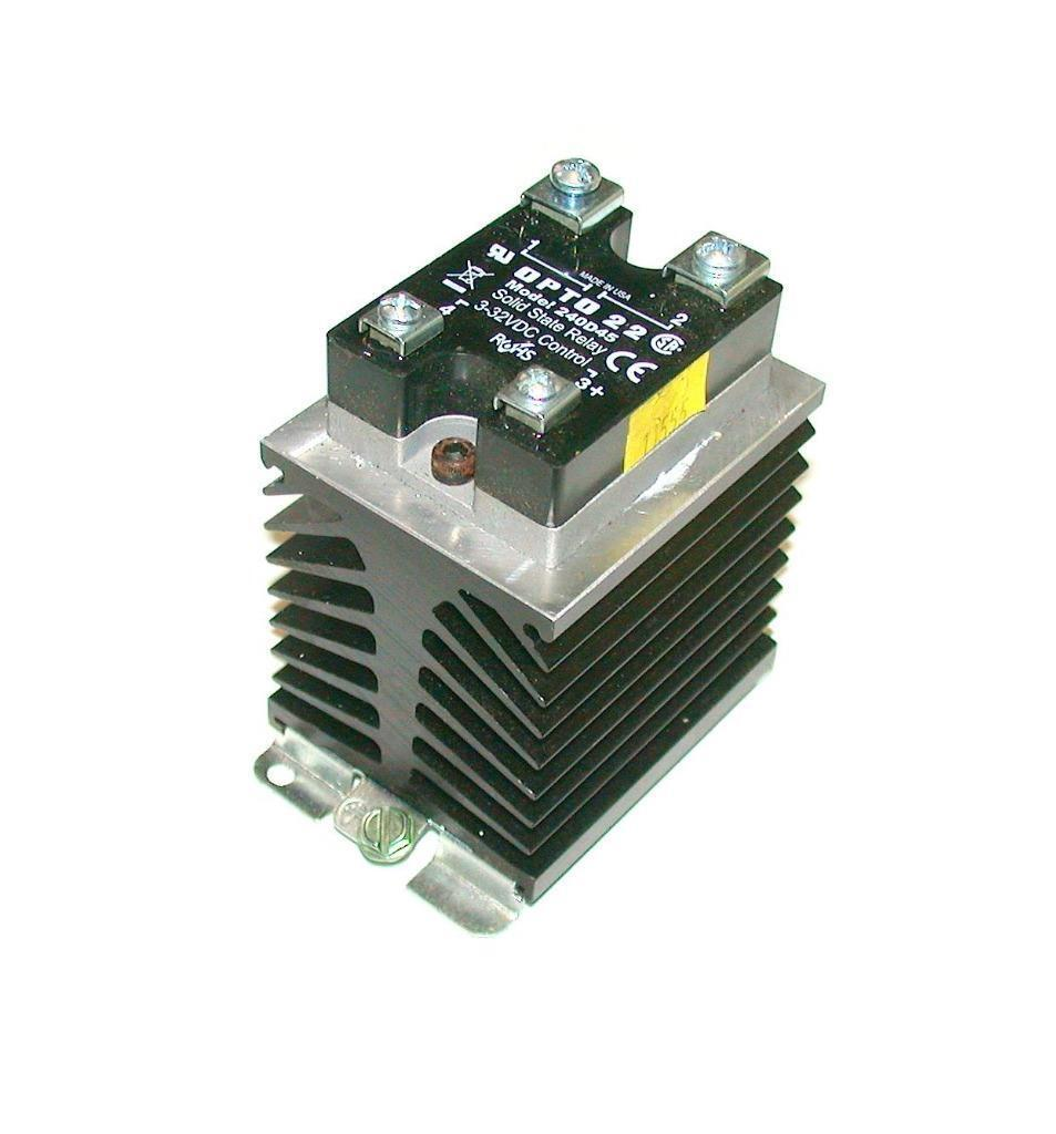 hight resolution of opto 22 240d45 dc control solid state relay 240 vac 45 amp 4000 v optical for sale online ebay