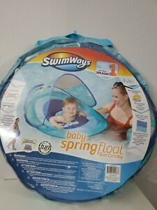 Swimways Baby Spring Float With Canopy Blue With Ducks : swimways, spring, float, canopy, ducks, Swimways, Spring, Float, Canopy, Lobster