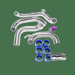 CXRacing Intercooler Piping Kit and BOV For 89-99 Nissan