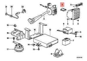 Genuine BMW E24 628CSi 635CSi Coupe Coding Plug