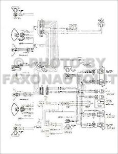 1976 Chevy Chevette Foldout Wiring Diagrams Electrical