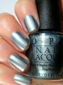Blue Grey Nail Polish : polish, Skyfall, MOONRAKER, Silver, Metallic, Lacquer, Polish