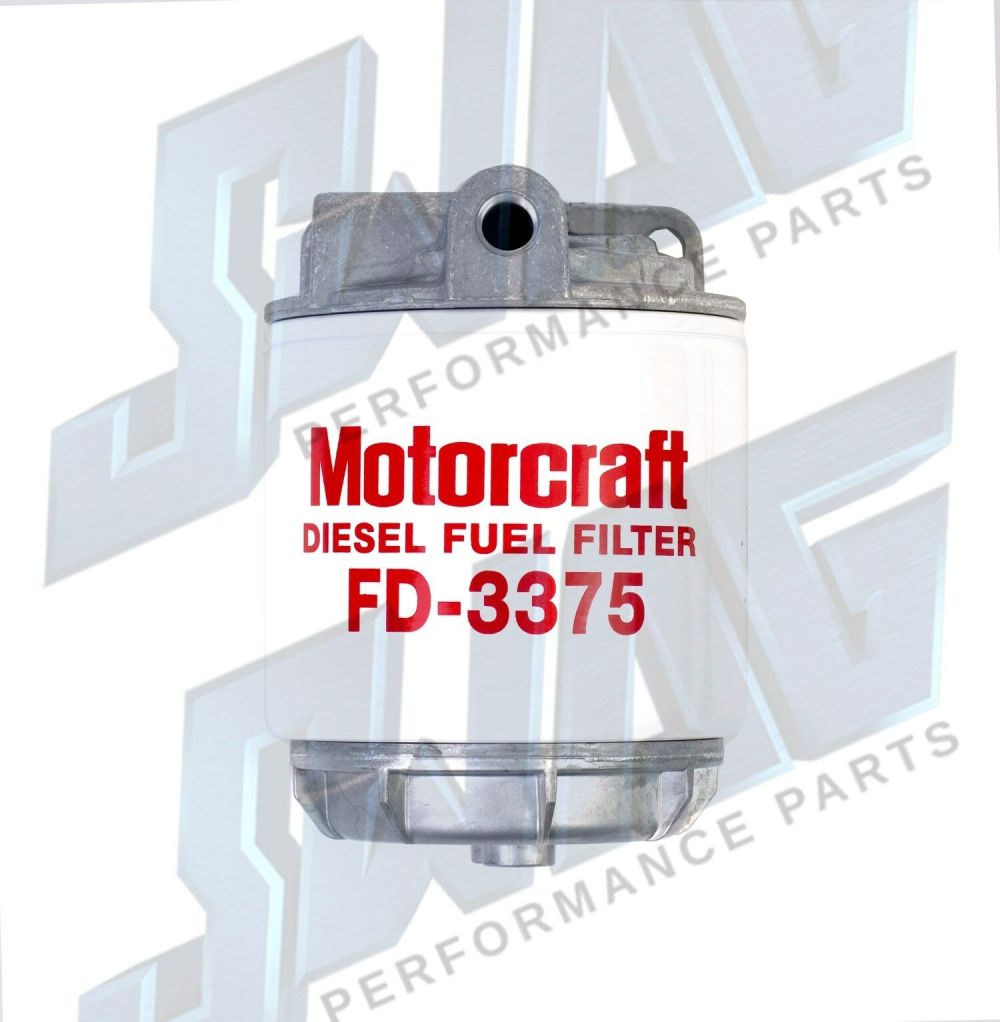 medium resolution of oem genuine ford 6 9 6 9l 7 3 7 3l idi diesel fuel filter housing fuel