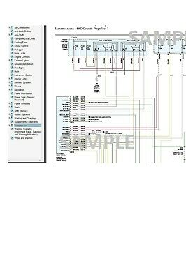 Ford F-250 2008 08 Complete Color Wiring Diagram Schematic