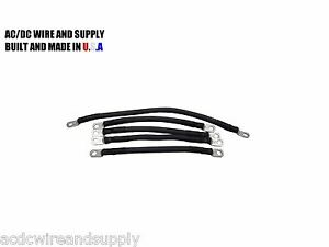 # 1 Awg HD Golf Cart Battery Cable 5 pc HD E-Z-GO 1994/UP