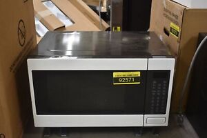 details about ge cafe ceb515p4nwm 22 matte white countertop microwave nob 92571 hrt