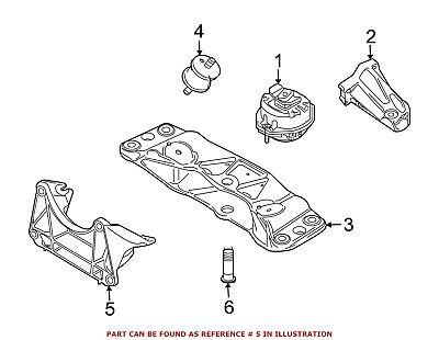 For BMW Genuine Automatic Transmission Mount Bracket