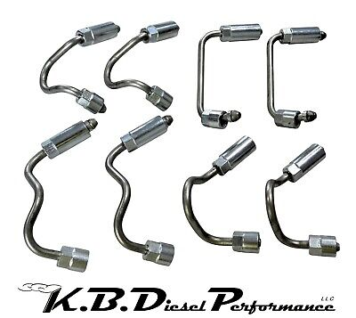 Fuel Rail Injector Lines for 2004.5-2005 6.6l LLY Duramax