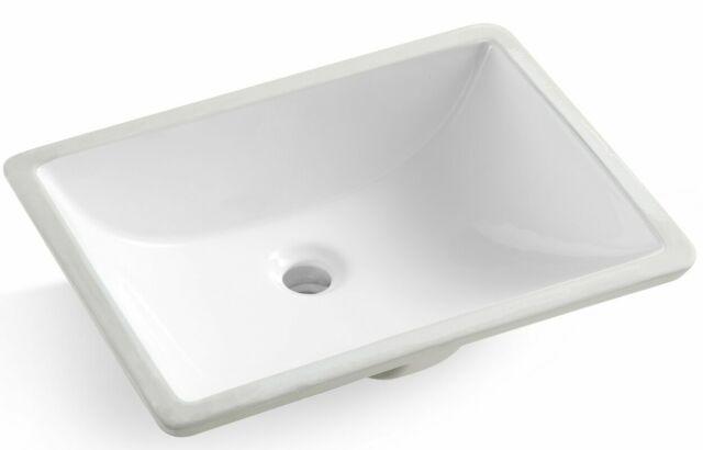 white vanity undermount sink a 309