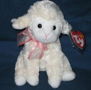 Ty Fleecia Lamb Beanie Baby - Mint With Tags