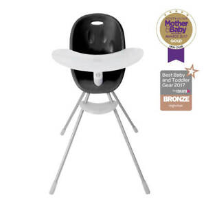 phil and teds poppy high chair white styling chairs black new free shipping ebay image is loading amp