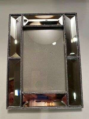 Nicole Miller Wall Mirror : nicole, miller, mirror, Nicole, Miller, Picture/Photo, Frame, Mirrors, Bordered, Silver