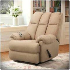 Lazy Boy Living Room Decor Ideas Diy Microfiber Massage Chair Recliner Padded Dual Rocker Image Is Loading