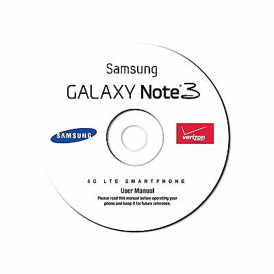 User Manual for Samsung Galaxy Note 3 Smart Cell Phone SM