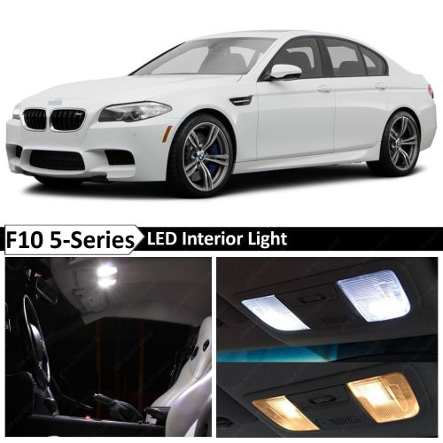 small resolution of details about white interior led light package for 2011 2015 bmw 5 series m5 535i 550i f10