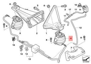 Genuine BMW Engine Mount Left E60 E61 E63 E64 525d 530d