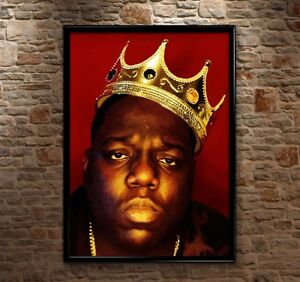 detalhes sobre premium biggie smalls crown notorious big luke cage poster print art huge hq a0