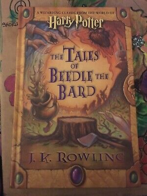 The Tales Of Beedle The Bard : tales, beedle, Harry, Potter, Tales, Beedle, Edition, Print, Facsimile, Signed