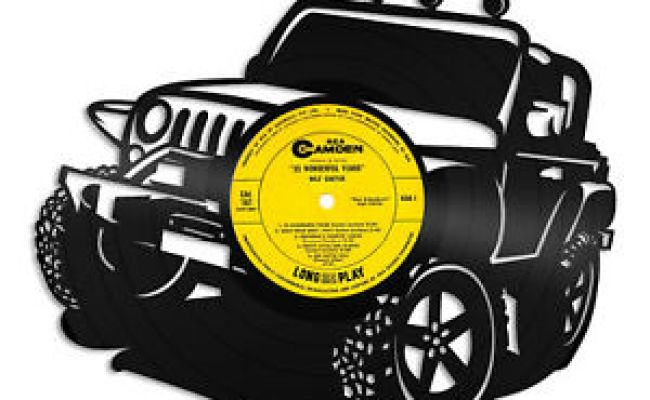 Jeep Vinyl Wall Art Decorative Unique Gift For Jeep Lovers