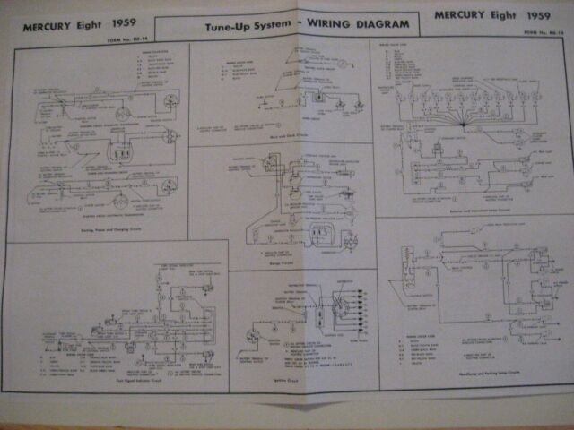 1959 MERCURY PARKLANE COLONY PARK MONTCLAIR WIRING DIAGRAM