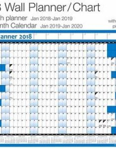 Image is loading year planner wall chart poster inc also calendar for rh ebay
