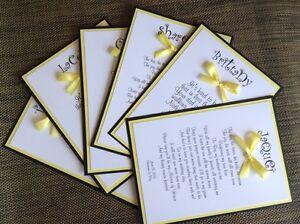 Be My Bridesmaid Card Black And Yellow