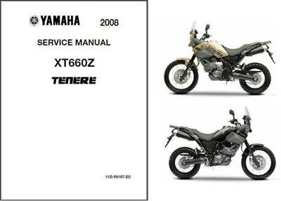 2008-2014 Yamaha 660 ( XT660Z ) Tenere Service Repair