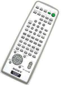 Genuine Sony RM-SM90 Micro Hi-Fi Component System Remote