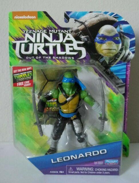 Teenage Mutant Ninja Turtles Out Of The Shadows Toys : teenage, mutant, ninja, turtles, shadows, Teenage, Mutant, Ninja, Turtles, Movie, Shadows, Leonardo, Basic, Figure, Online