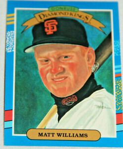 Alia hoyt   may 11, 2020 if you ever sit down to play a card game, you'll quickly learn that the jacks, queens and kings — the court or face cards — are. Baseball Card Matt Williams 18 Donruss Diamond Kings Sf Giants 1990 Ebay