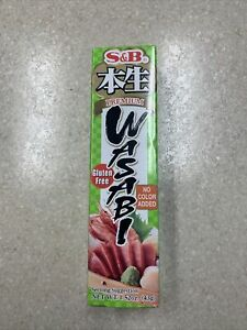 1 S&B Premium Real Japanese Wasabi Horseradish Paste Tube ...