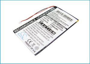 Battery for Creative BA20603R79901 DAA-BA0004 DAP-HD0014