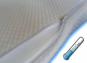 Image Is Loading Memory Foam Mattress Topper 140 X 70