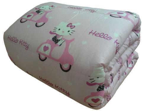 Gabel piumino in piuma d'oca matrimoniale nottetempo 90% piumino 10%. Bedding Gabel 1 Square Hello Kitty Quilt Duvet Winter Single Pink Scooter Home Garden