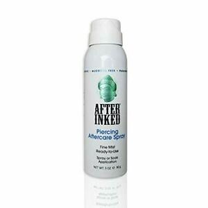 AFTER INKED Piercing Aftercare Sterile Saline Solution ...