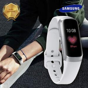 Samsung Galaxy Fit SM-R370 Silver Smart Fitness Tracker w/ Original White Band
