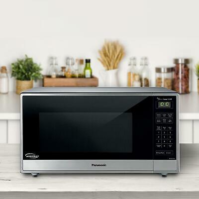 panasonic countertop microwave oven w inverter technology model nn sn744sa 885170188969 ebay