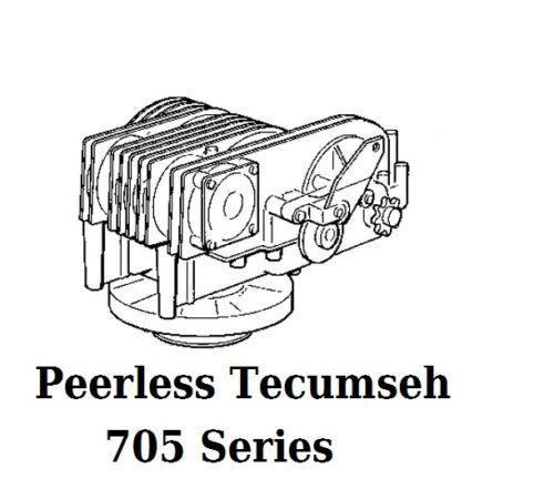 Gasket set Parts kit for Hydrostat Gears 705-002 Peerless