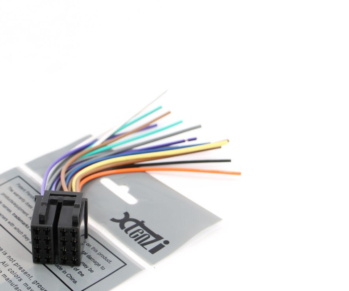 hight resolution of xtenzi 16 pin radio wire harness for pyle pldn72bt pldn70u for pyle camera installation pyle pldn72bt audio installation wiring