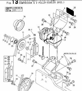 Yanmar Bagger b50-2 Parts Manual, alle anderen Handbücher