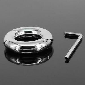 Heavy Stainless SteelMale Chastity Ring