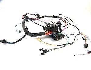 1968 Camaro Under Dash Wiring Harness MT Console Shift
