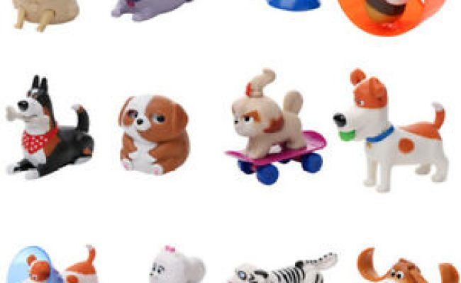 Mcdonald S Toy Happy Meal 2019 The Secret Life Of Pets 2