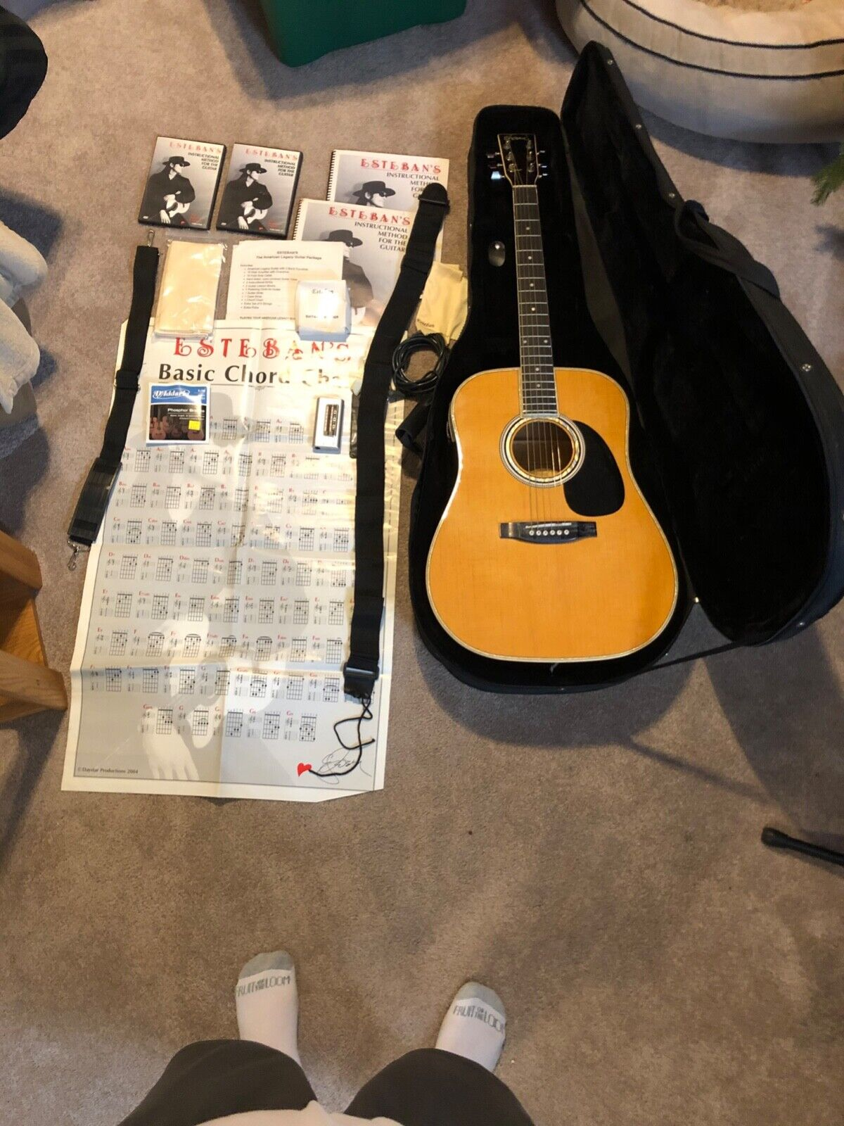 Esteban Guitar Package : esteban, guitar, package, Esteban, American, Legacy, Al-100, Right-handed, 6-string, Acoustic, Electric, Guitar, Online