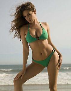 Image Is Loading Kelly Brook Sexy Model 8x10 Hot Bikini Beach