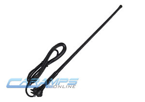 NEW UNIVERSAL CAR STEREO AM/FM RUBBER ANTENNA ROOF FENDER