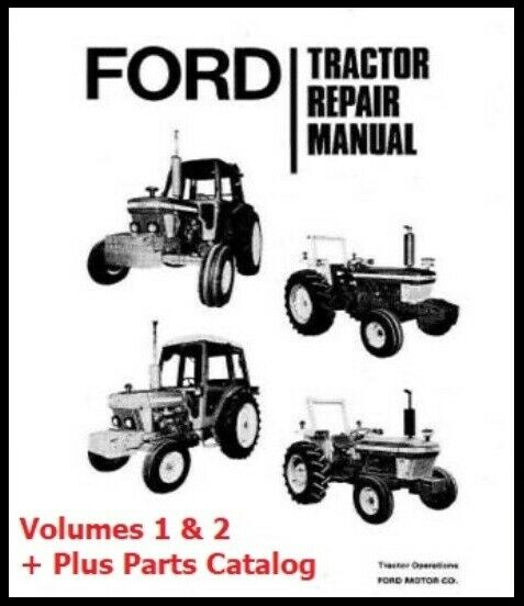 Business & Industrial FORD 2600 3600 4100 4600 TRACTOR